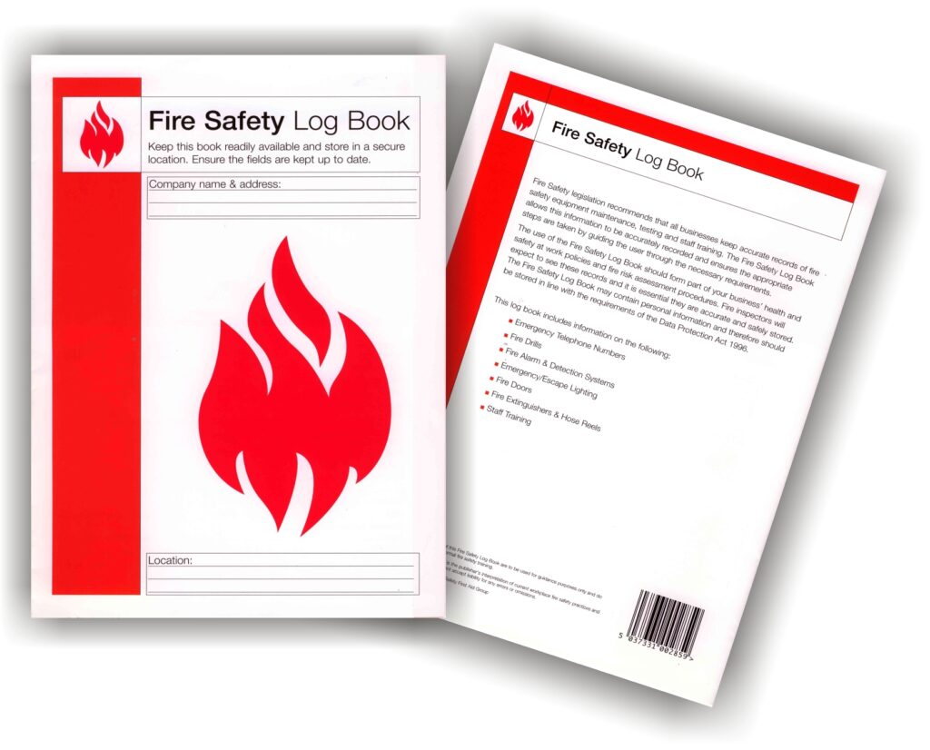 Example of a Fire Safety Log Book