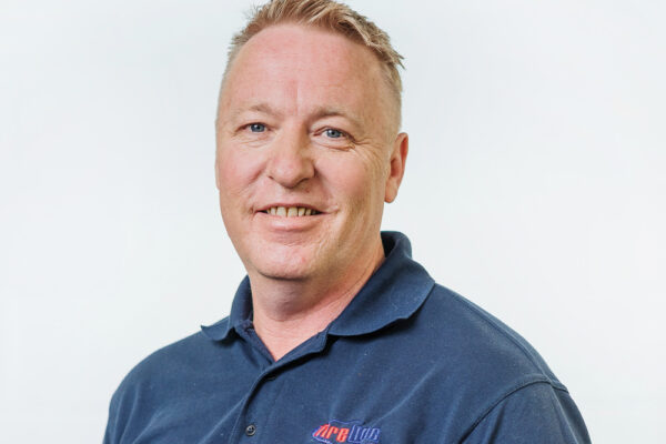 A photograph of Fireline Service Manager Paul McCusker
