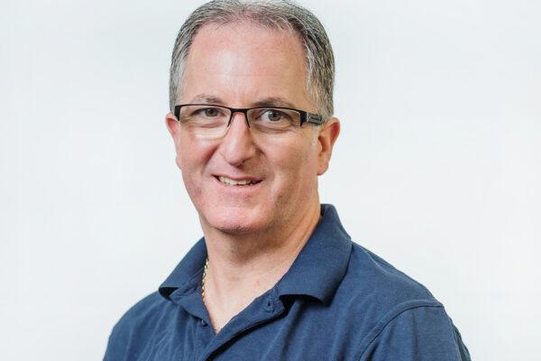 A photograph of Freline engineer Pete Lambert